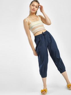 Kisscoast High Waist Cropped Harem Pants