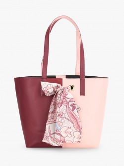 Gusto Colour Block Tote Bag