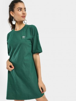 Adidas Originals Trefoil Logo T-Shirt Dress