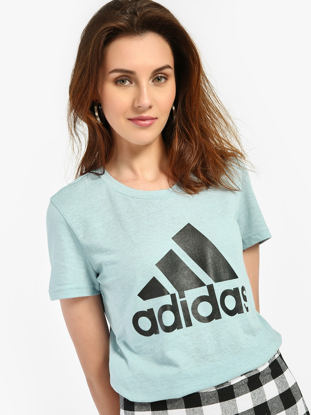 Adidas Blue Must Have Badge Of Sport T-Shirt 1