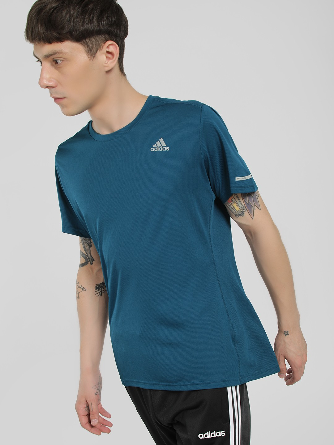 Adidas Blue Run T-Shirt 1