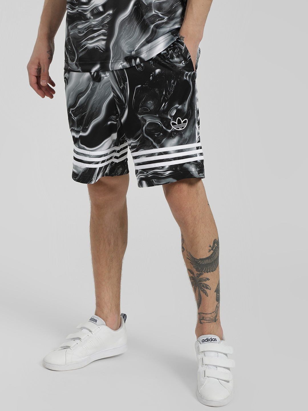 Adidas Originals Multi Melted Marble Shorts 1