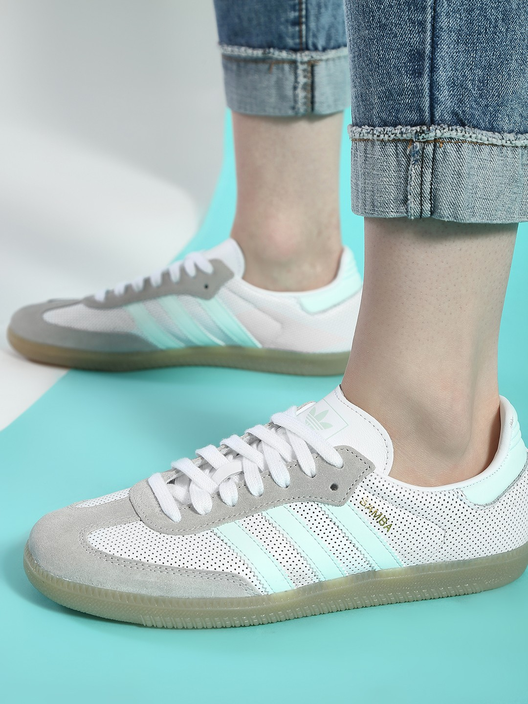Adidas Originals White Samba Og Shoes 1