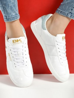 BRITISH KNIGHTS Patent Metallic Sneakers