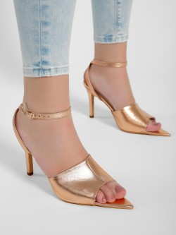 KOOVS Metallic Stiletto Heels