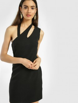 KOOVS Cut-Out Bodycon Dress