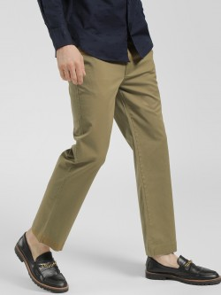 Spring Break Basic Straight Cropped Trousers