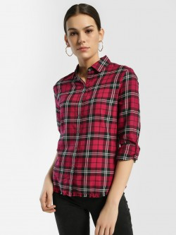 Flying Machine Woven Multi-Check Shirt