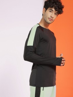 K ACTIVE KOOVS Long Raglan Sleeve Thumbhole T-Shirt