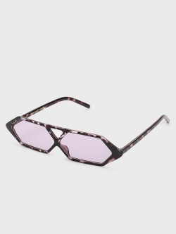 Pataaka Hexagon Frame Retro Sunglasses