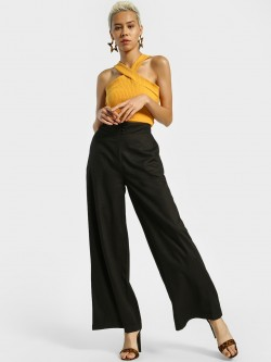 KOOVS High Waist Wide Leg Palazzo Pants