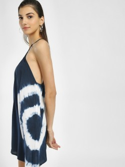 Iris Tie Dye Shift Dress