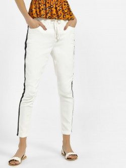 Iris Side Tape Slim Trousers