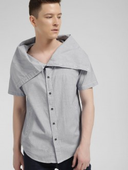 Brave Soul Oversized Cowl Neck Shirt