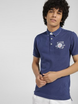 Being Human Logo Badge Polo Shirt