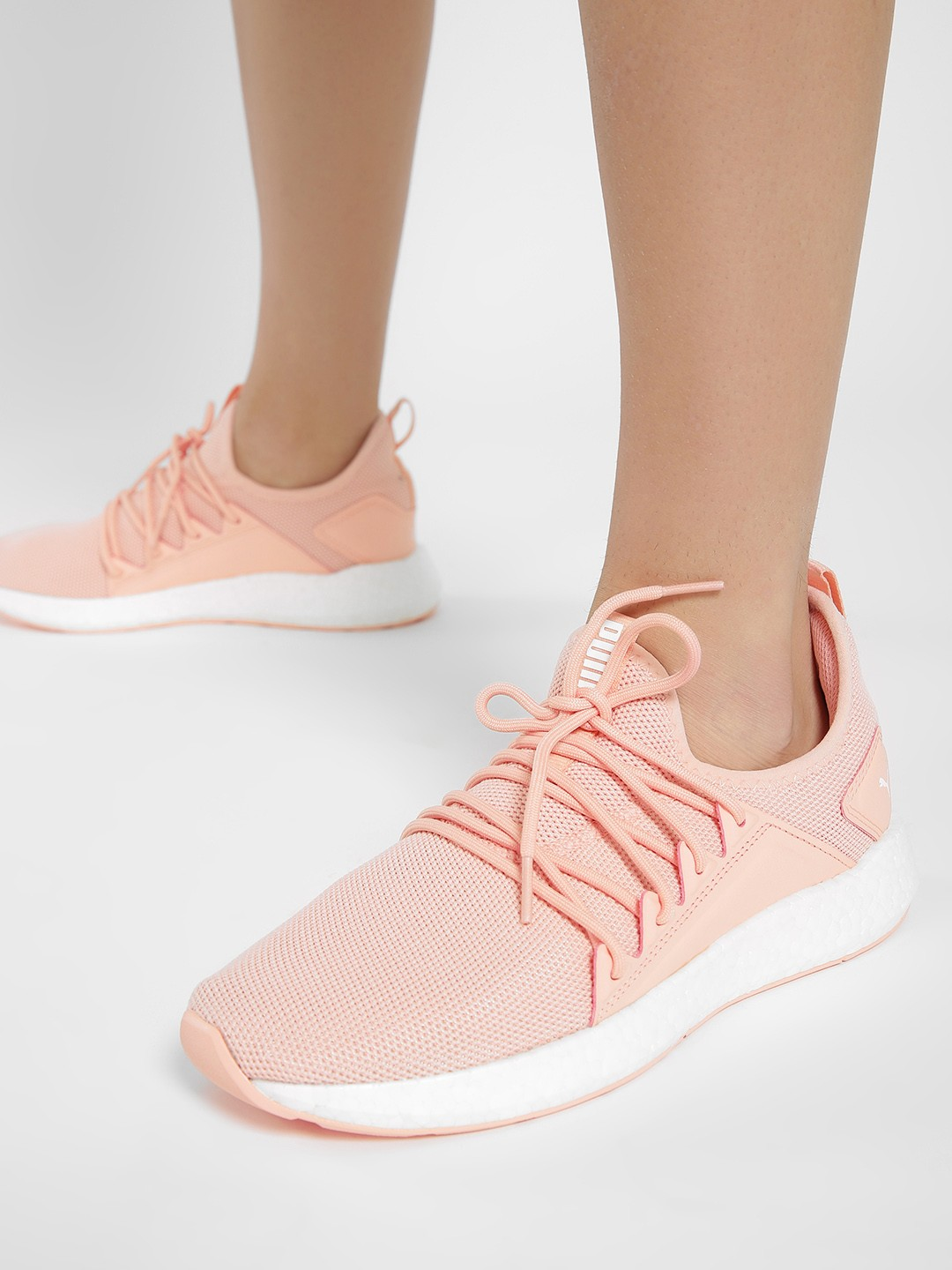 Puma Pink Nrgy Neko Sport Running Shoes 1