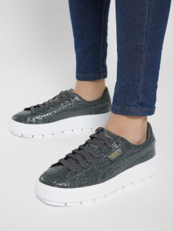 Puma Platform Trace Exotic Luxe Sneakers