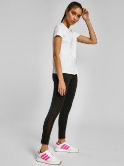 K ACTIVE KOOVS Mesh Panel Pocket Detail Leggings