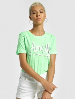 Aeropostale Contrast Brand Patch T-Shirt
