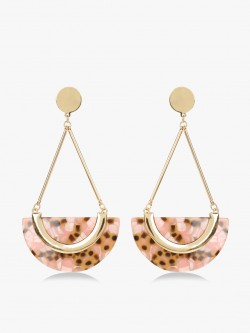 Saks London Geometric Resin Drop Earrings