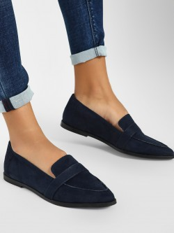 ILLIMITE Suede Loafers