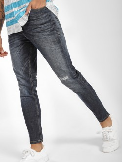 Lee Cooper Distressed Mid-Wash Slim Jeans