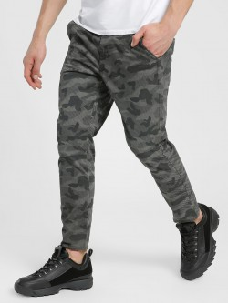 Flying Machine Digital Camo Print Trousers