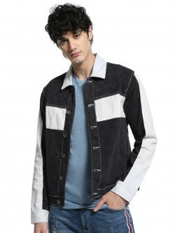 K Denim KOOVS Bloc Trucker Jacket