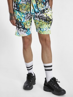 KOOVS Graffiti Print Shorts