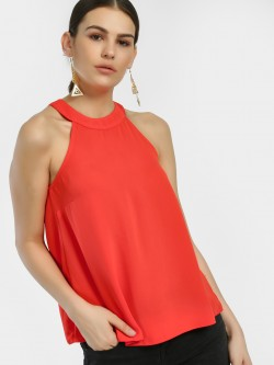 New Look Halter Neck Sleeveless Blouse