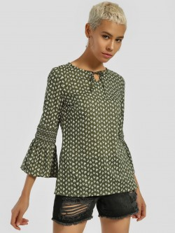 Lee Cooper All Over Print Blouse