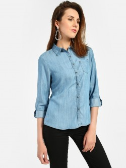 Lee Cooper Basic Denim Shirt