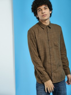Buffalo Woven Patch Pocket Shirt