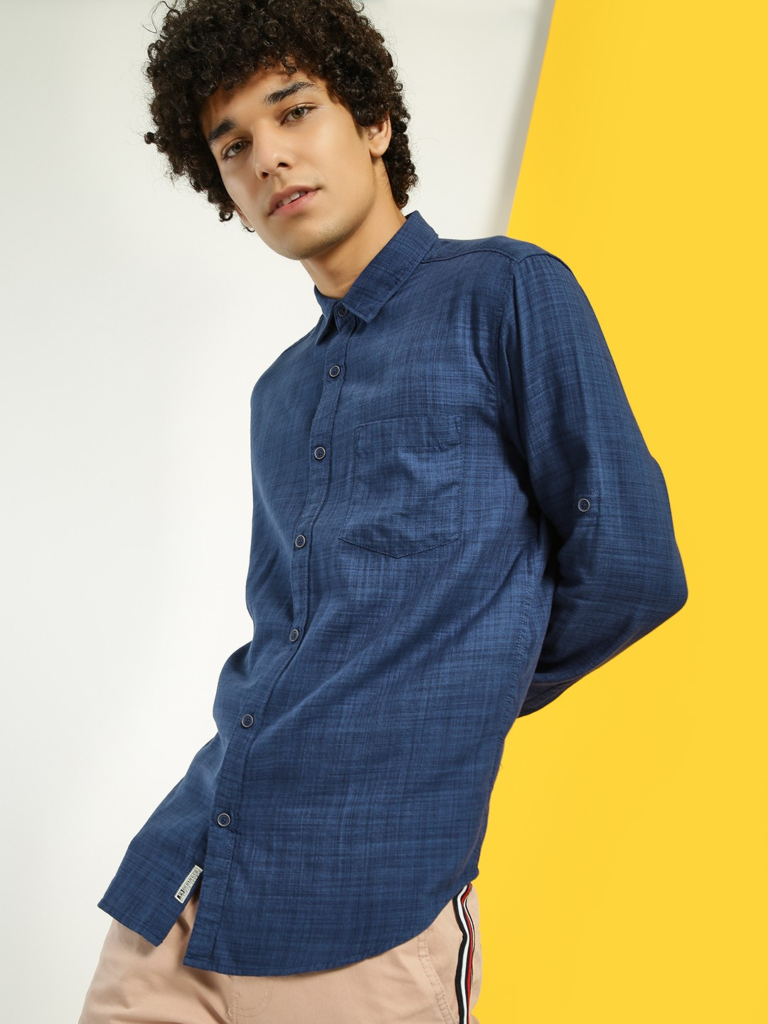 Buffalo Royal Woven Patch Pocket Shirt 1
