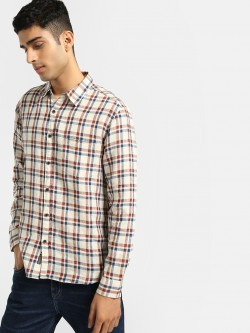 Buffalo Multi-Check Linen Shirt