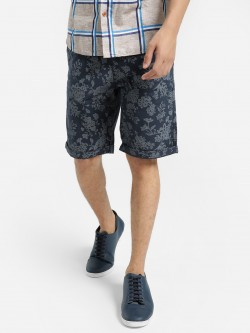 Buffalo Self-Design Floral Print Shorts