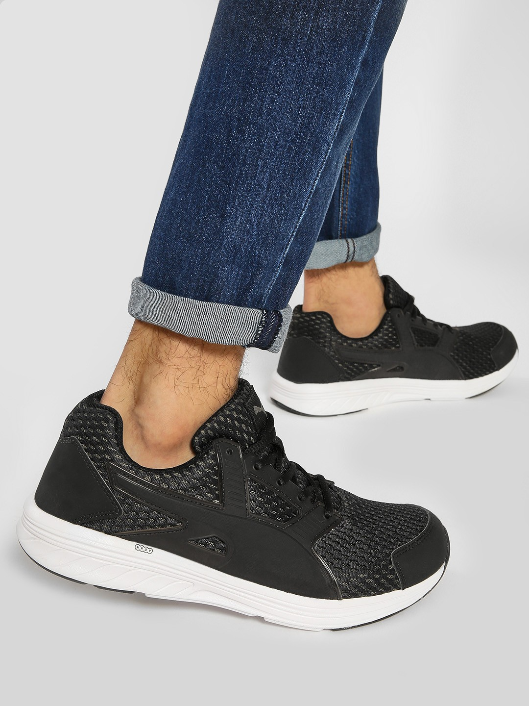 Puma Black NRGY Driver IDP Shoes 1
