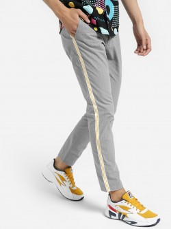 REALM Glen Check Side Tape Trousers