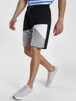 Leo Sansini Colour Block Cut & Sew Shorts