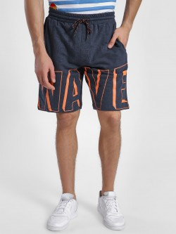 Leo Sansini Wave Placement Print Shorts