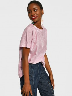 KOOVS All Over Glitter T-Shirt