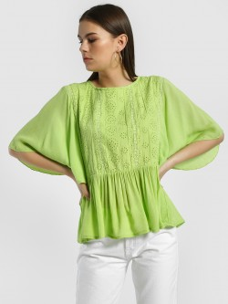 Rena Love Broderie Detail Blouse