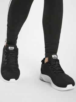 361 Degree Knitted Lace-Up Trainers