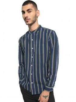 Spring Break Vertical Stripe Long Sleeve Shirt