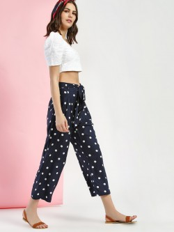 Miaminx Polka Dot Print Trousers