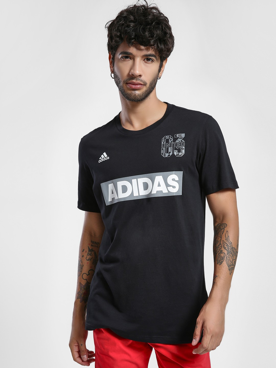 Adidas Black Sports ID T-Shirt 1