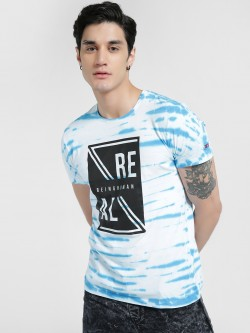 Being Human Slogan Print Tie & Dye T-Shirt