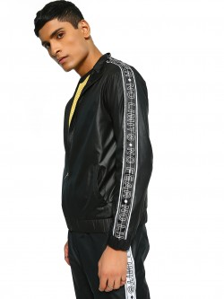 K ACTIVE KOOVS Shoulder Text Tape Track Jacket