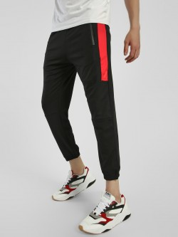 K ACTIVE KOOVS Contrast Panel Slim Fit Joggers