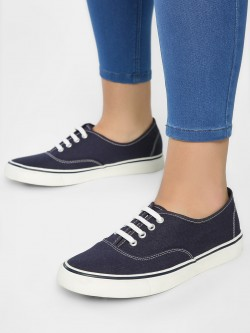 KOOVS Plimsoll Lace-Up Shoes